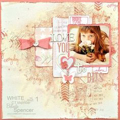 CT Layout for the ww1 Radiant Orchid scrap challenge for Tracey Fowler