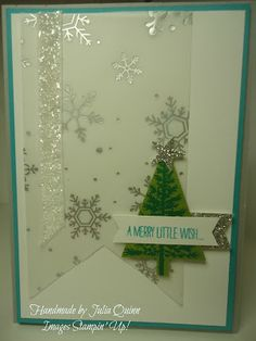 handmade by Julia Quinn - Independent Stampin' Up! Demonstrator: Festival of Trees in Bemuda Bay