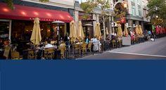 Santana Row Shopping Center, Santa Clara Designer shopping in San Jose.