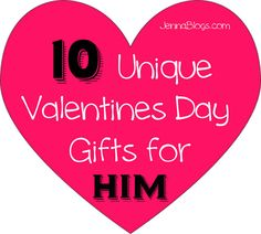 10 Unique Valentines Day Gift Ideas for HIM! #Valentines #Gifts