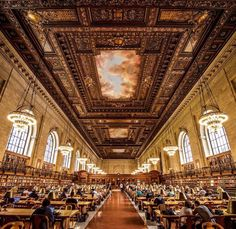 New York Public Library by jstaffordphotos by newyorkcityfeelings.com - The Best Photos and Videos of New York City including the Statue of Liberty Brooklyn Bridge Central Park Empire State Building Chrysler Building and other popular New York places and attractions.