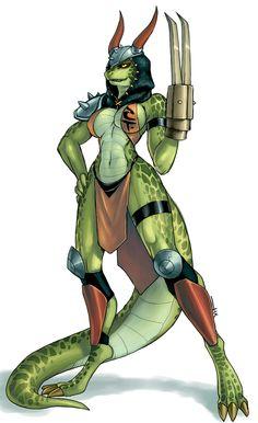 Fem General Scales by luigiix on DeviantArt Fantasy Races, Fantasy Girl, Fantasy Characters, Female Characters, Fantasy Character Design, Character Art, Lizard Girl, Female Monster, Monster Girl Encyclopedia