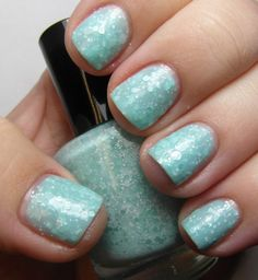 Glacier Glitter Nail Polish by OopsieDaisiesNails on Etsy, $8.50