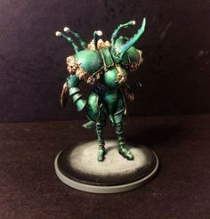 Dung Beetle Knight painted by Screaming Antelope