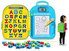 LeapFrog Mr. Pencils ABC Backpack. Toys for Girls, Toys 1 year old, this is toys