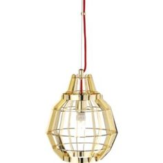 brass cage lamp