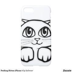 Peeking Kitten iPhone 7 iPhone 7 Case