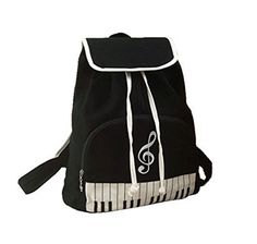 Lehope Black Cavas Music Piano Backpack Bag 142 X122x59 *** You can get more details by clicking on the image.(This is an Amazon affiliate link)