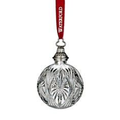 Waterford 2014 Crystal Clear Ball Ornament  Waterford 2014 Crystal Clear Ball Ornament $95.00 EXTRA SAVINGS