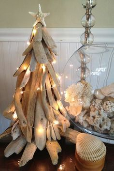 How To Make Driftwood Art | Decorating the Driftwood Tree | JOY BEYOND FIFTY #driftwoodbeachsigns