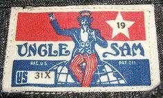 Nice vintage clothing label.