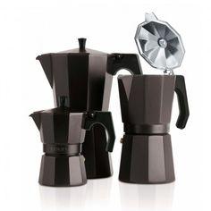 Vintage olasz designer kávéfőző inox kávéfőző Otthon