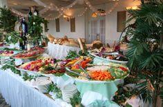 cold wedding buffet table pictures | ... Buffet Displays http://www.thegraycliff.com/menus/shower-buffet