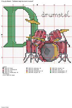 Alfabeto degli strumenti musicali: D