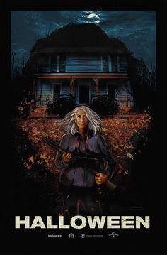 "Horror Movie Poster Art : ""Halloween"" by Juan Ramos Halloween 2018, Films D' Halloween, Halloween Horror, Halloween Art, Happy Halloween, Horror Movie Posters, Movie Poster Art, Art Posters, Film Posters"