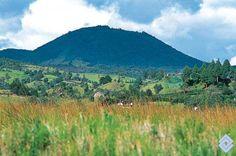 Cerro El Campanero, en las cercanías de la laguna de La Cocha, Colombia.  Fotógrafo: Fredy Gómez