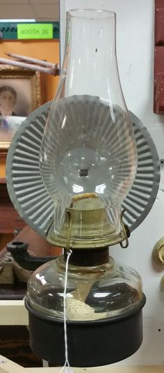 Old Wall Mount Oil Lamp, From Bill Ewing, B26, $45.00. Antique Oil  LampsVintage ...
