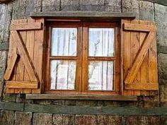 postigos portones puertas ventanas estilo campo