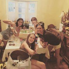 Wedding decor crew... Meaning bride squad! | #bridesquad #weddingweek #sunflowershowdown