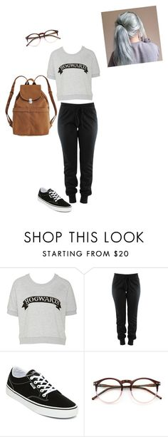 """""""Untitled #809"""" by beauty-lays-within on Polyvore featuring Vans, Wildfox, BAGGU, harrypotter, casualoutfit and 2016"""