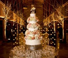 """softness brought into a more """"rustic"""" atmosphere for a wedding"""