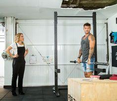 Lucas Lucco em espaço fitness de sua casa (Foto: Fabiano Battaglin/Gshow)