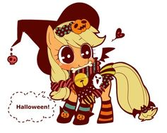 My Little Pony Halloween- Applejack