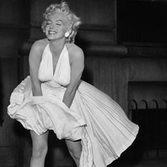 Marilyn Monroe's iconic white dress moment came to life on the silver screen in the premiere of The Seven Year Itch.