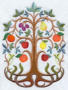 Tree of Life - embroidery machine patterns