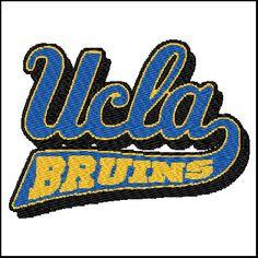 UCLA Embroidery Design Pattern - $2.00 #onselz