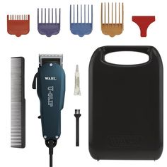 Professional Pet Salon Animal Grooming Electric Clipper Trimmer Machine Kit 10pc…