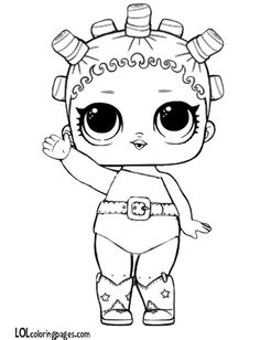 Free printable lol doll coloring