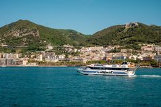 Salerno Promenade from the dock, How Wonderful Landscape! http://www.livesalerno.com/trieste-promenade  #Salerno #Promenade #Italy #Lungomare #Sun #Sea #Amalficoast