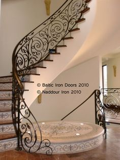 Wrought Iron Railings & Gates | Ornamental Iron Railings | Wrought Iron Stairs
