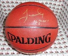 James Worthy LAKERS autograph basketball COA Memorabilia Lane