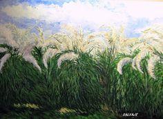 CORTADERAS Plants, Painting, Art, Scenery, Art Background, Painting Art, Kunst, Paintings, Plant