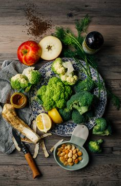 Caraway + horseradish broccoli quinoa salad // via @thefirstmess | #food #photography