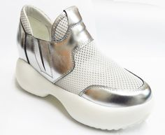 Leather breathable mesh casual shoes   Buyerparty Inc.