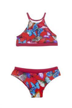 Two-Piece Submarine | Submarine Swim | Girls Swimwear Girls Bathing Suits, Two Piece Swimwear, Our Girl, These Girls, Bikini Girls, Summer Time, Coral, Swimming, Bikinis