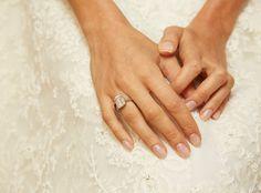 George Clooney and Amal Alamuddin's Wedding Photos - Amal Alamuddin's Engagement Ring from #InStyle