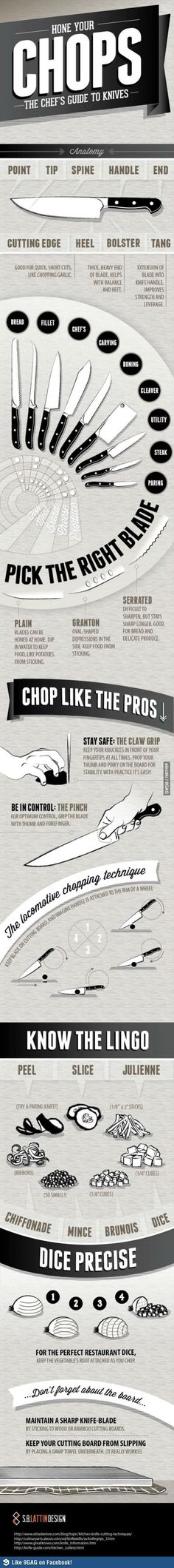 "Culinary Tips. Try out the ""Areo Knife"" that cuts anything & everything."