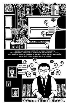 Bande dessinée : « Le Piano oriental », chapitre 2