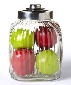 Look at this #zulilyfind! Global Amici 104-Oz. Glass Canister by Global Amici #zulilyfinds
