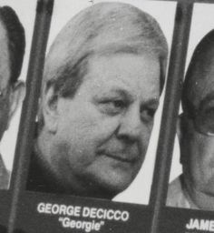 """Gregory """"Big Georgie"""" DeCicco (born March 20, 1929-October 2014) is a New York mobster and longtime Caporegime in the Gambino crime family. DeCicco is one of the last capos of the old John Gotti regime in the 1980s who haven't been under any indictment until now. DeCicco is the older brother of former Gambino Underboss Frank DeCicco, who was killed in a car-bomb meant for his Boss John Gotti, organized by then current Boss of the Genovese crime family, Vincent Gigante, and Lucchese crime…"""