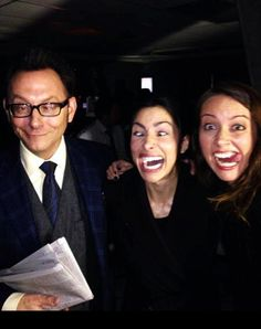 Person of Interest - Michael Emerson, Sarah Shahi, Amy Acker lol