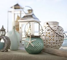 Elise Punched Lanterns | Pottery Barn  IN LOVE! Why must they be so expensive? ):