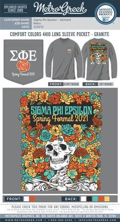 SigEp Shirt | Formal Shirt | Fraternity Shirt | Metro Greek | Custom Greek Tees | Sigma Phi Epsilon | Roses | #sigep #formalshirt # fraternityshirts #metrogreek Fraternity Formal, Fraternity Shirts, Sorority And Fraternity, Sorority Shirts, Sigma Phi Epsilon, Sorority Formal, Formal Shirts, Comfort Colors, Shirt Designs