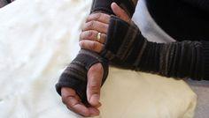 Most Popular Mens Fingerless gloves by KariLynnsKumfortshop,