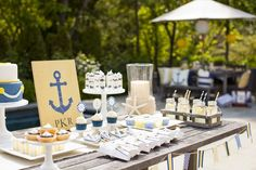 Nautical Baby Shower for Pottery Barn Kids