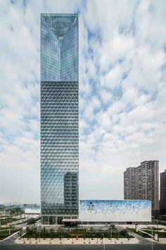 Torre Jiangxi Nanchang Greenland Zifeng / SOM